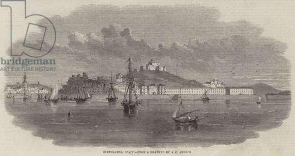 Carthagena, Spain (engraving)