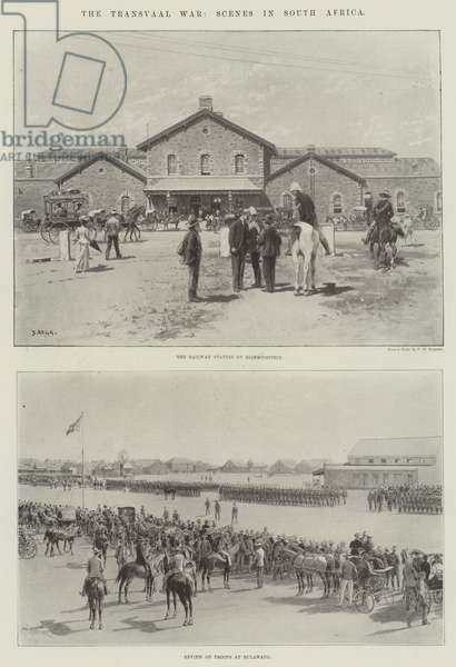 The Transvaal War, Scenes in South Africa (litho)