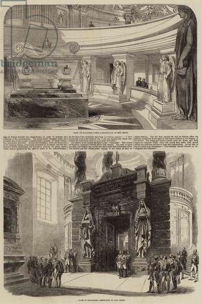 The Tomb of Napoleon (engraving)
