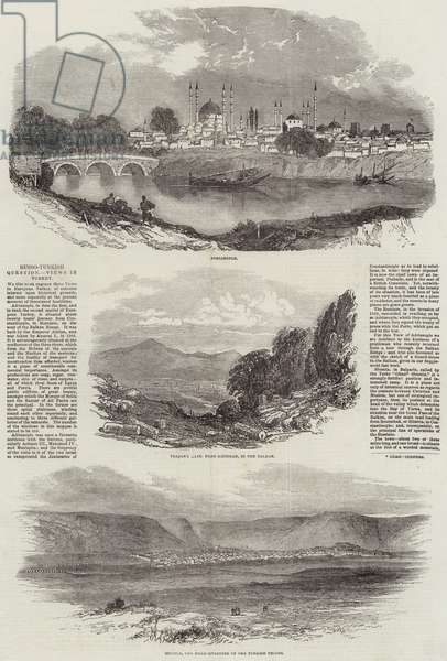 Russo-Turkish Question, Views in Turkey (engraving)