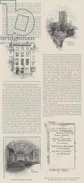 The Centenary of Sir Joshua Reynolds (engraving)