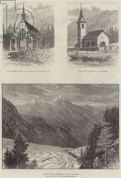 Sketches of the Engadine (engraving)