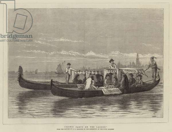 Picnic Party on the Lagoon (engraving)
