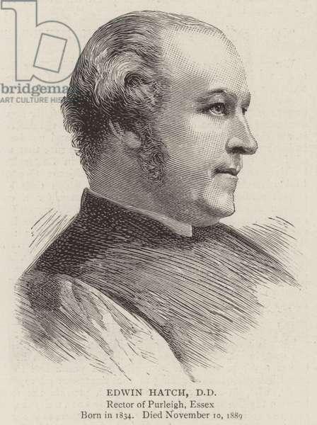 Edwin Hatch, DD (engraving)