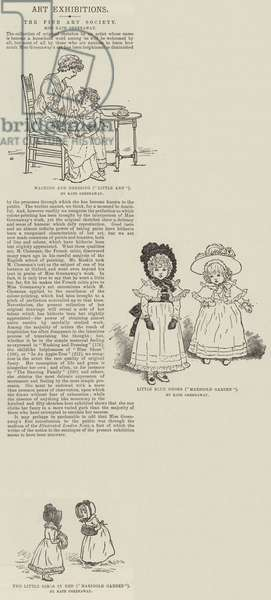 Illustrations by Kate Greenaway (engraving)
