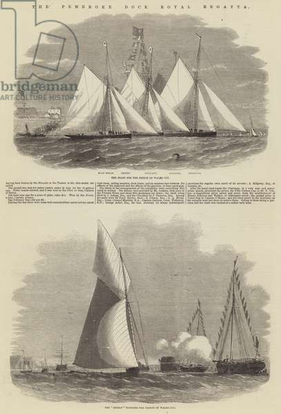 The Pembroke Dock Royal Regatta (engraving)