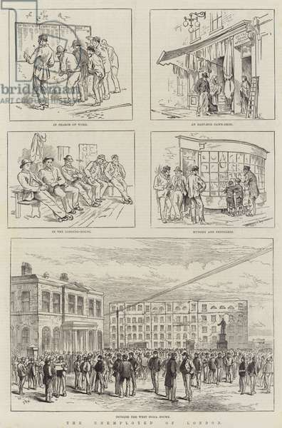 The Unemployed of London (engraving)