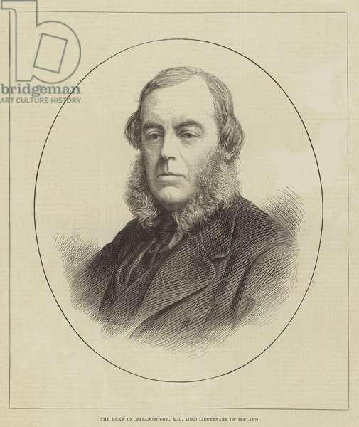 The Duke of Marlborough, KG, Lord Lieutenant of Ireland (engraving)