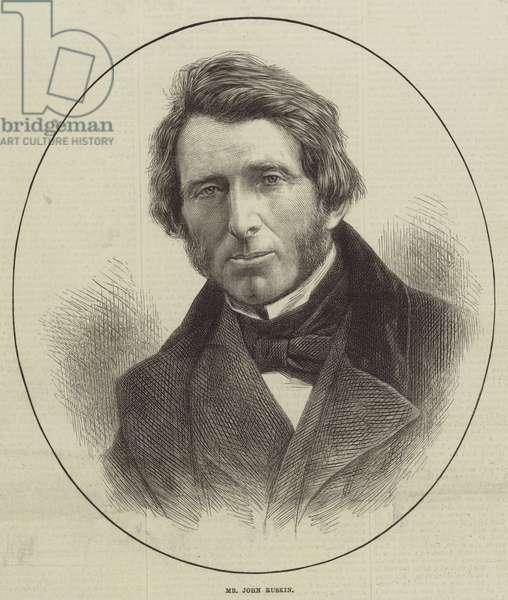 Mr John Ruskin (engraving)