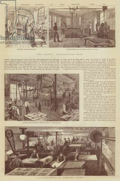 The Graphic Typesetting and Printing (engraving)