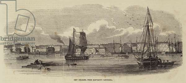 New Orleans, from Banvard's Panorama (engraving)