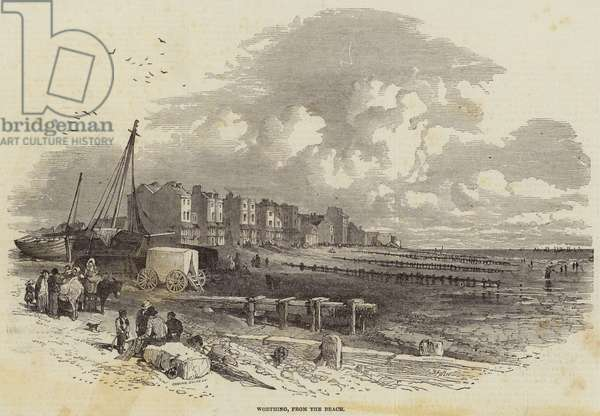 Worthing, from the Beach (engraving)