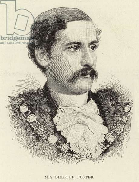 Mr Sheriff Foster (engraving)