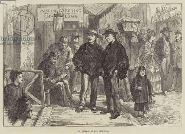 The Chinese at San Francisco (engraving)