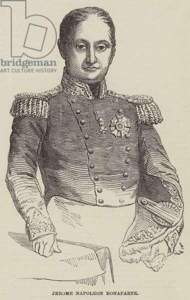 Jerome Napoleon Bonaparte (engraving)