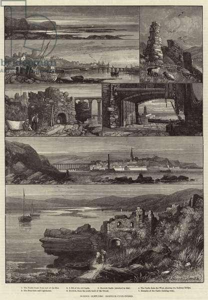 Border Sketches, Berwick-upon-Tweed (engraving)