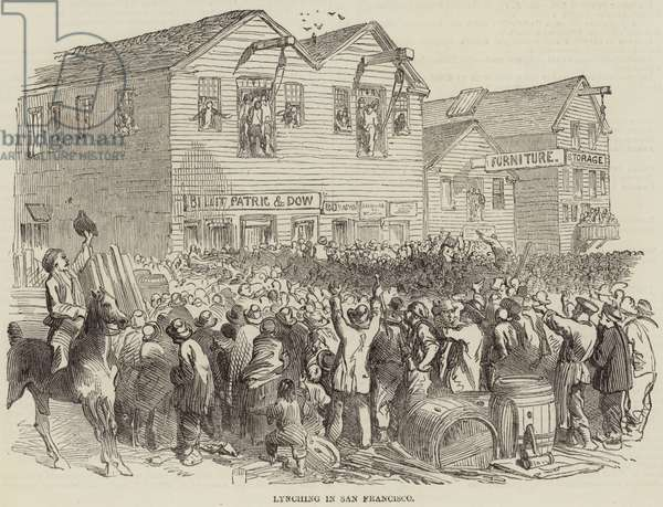 Lynching in San Francisco (engraving)