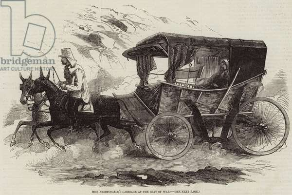 Miss Nightingale's Carriage at the Seat of War (engraving)
