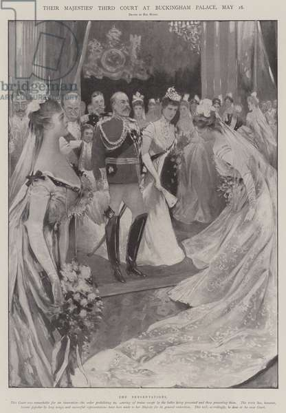 Their Majesties' Third Court at Buckingham Palace, 16 May (litho)