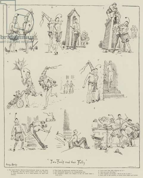 Two Fools and Their Folly (engraving)