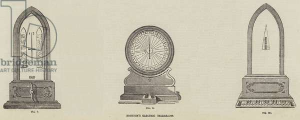 Highton's Electric Telegraph (engraving)