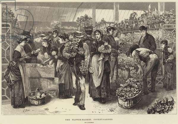 The Flower-Market, Covent-Garden (engraving)