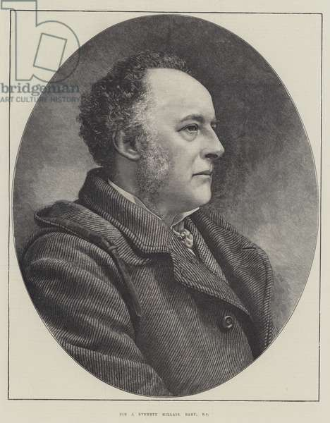 Sir J Everett Millais, Baronet, RA (engraving)