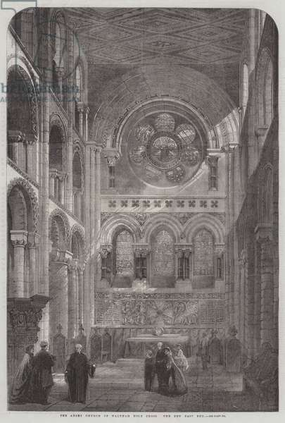 The Abbey Church of Waltham Holy Cross, the New East End (engraving)