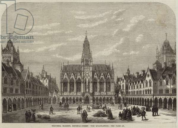 Columbia Market, Bethnal-Green, the Quadrangle (engraving)