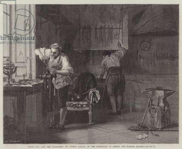 Louis XVI and the Locksmith (engraving)