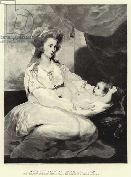 The Viscountess St Asaph and Child (engraving)