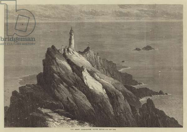 The Start Lighthouse, South Devon (engraving)