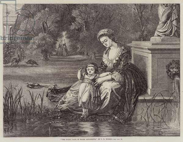 The Happy Days of Marie Antoinette (engraving)