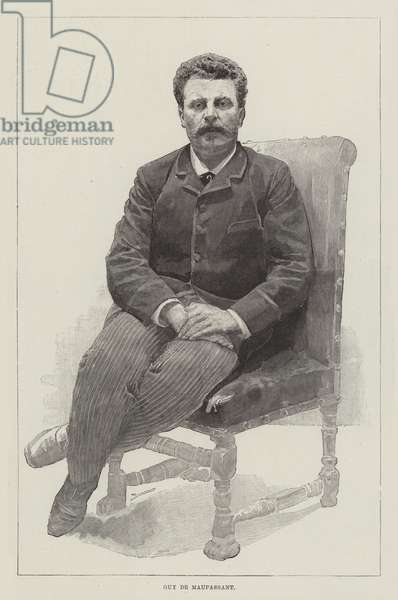 Guy de Maupassant (engraving)