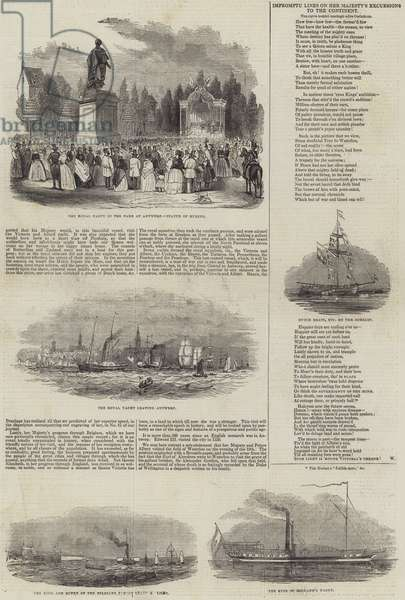 Her Majesty's Belgian Excursion (engraving)