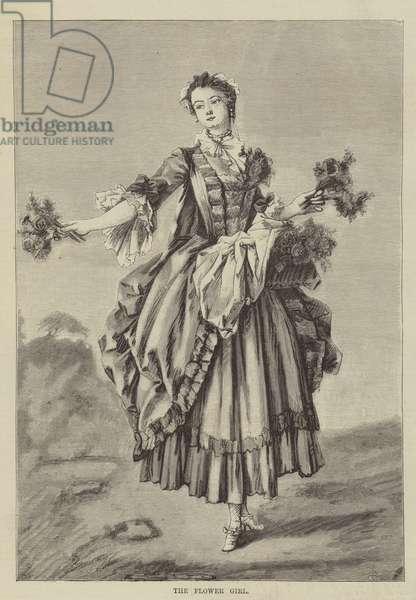 The Flower Girl (engraving)