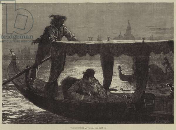 The Honeymoon at Venice (engraving)