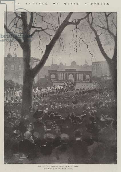 The Funeral of Queen Victoria (engraving)