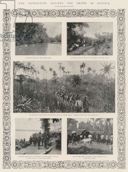The Expedition against the Orons in Nigeria (engraving)