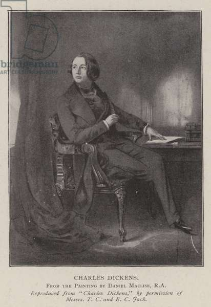 Charles Dickens (litho)