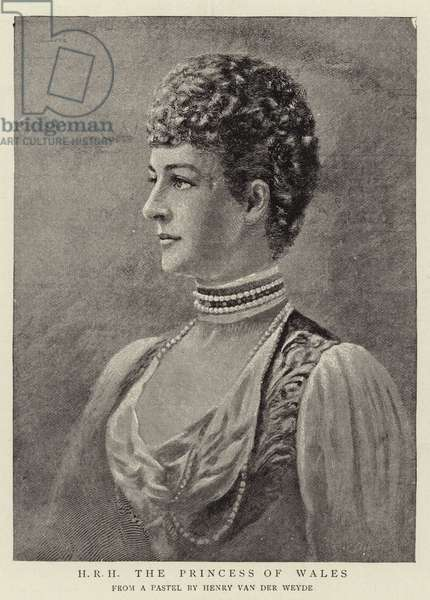 H R H The Princess of Wales (engraving)