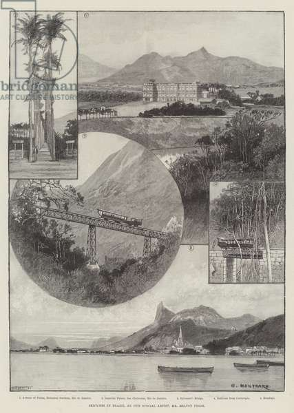 Sketches in Brazil (engraving)