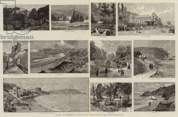 Our Summer Holiday Resorts, Scarborough (engraving)