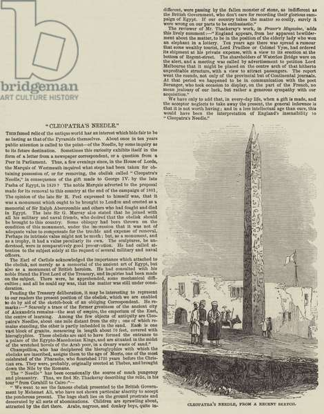 Cleopatra's Needle (engraving)