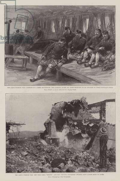 The Greco-Turkish War (litho)