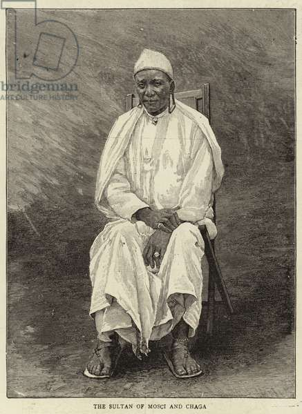 The Sultan of Mosci and Chaga (engraving)
