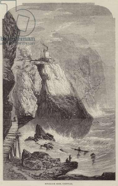 Botallack Mine, Cornwall (engraving)