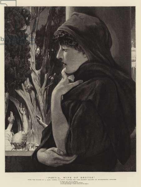 Portia, Wife of Brutus (engraving)