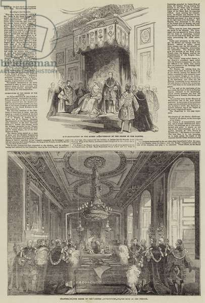 Visit of the King of the French to Queen Victoria (engraving)