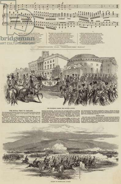 Ireland's Welcome to Queen Victoria (engraving)